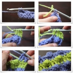 Changing Colors – Bobble Stitch