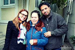Catalina, T. and M. at JIKO Clinic, Bucharest