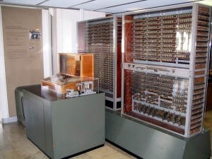 Replica of Zuse Z3, the first fully automated analog computer