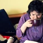 """Day 131: Jan 5th, 2015 – """"Enjoying some hot tea"""""""