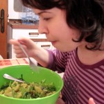 "day 259: May 13th, 2015 – ""Enjoying some Salad"""