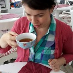 "Day 360: August 23rd, 2015 – ""Enjoying a cup of tea"""